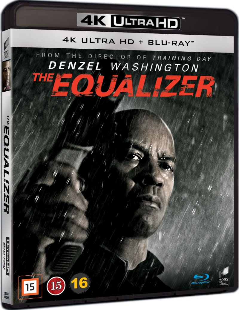 Billede af The Equalizer - Denzel Washington - 4K Blu-Ray