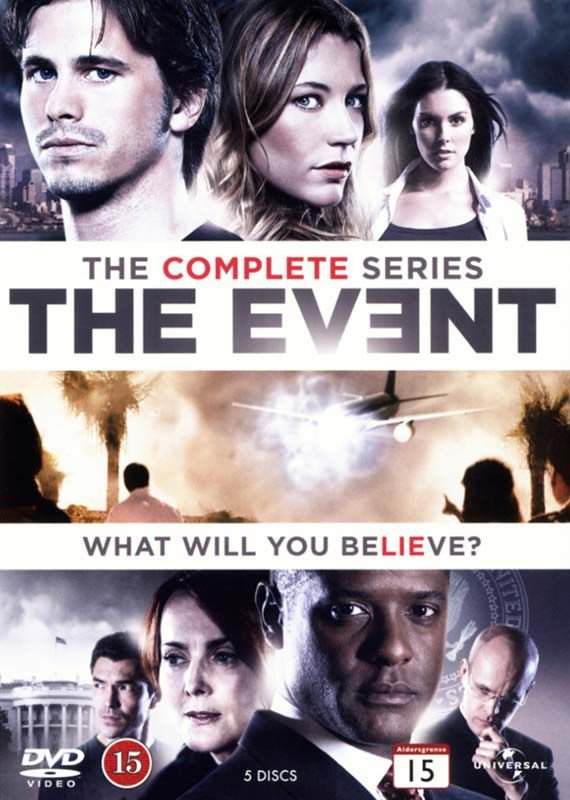 Image of   The Event - Sæson 1 - DVD - Tv-serie