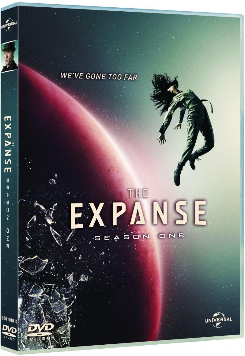 The Expanse - Sæson 1 - DVD - Tv-serie