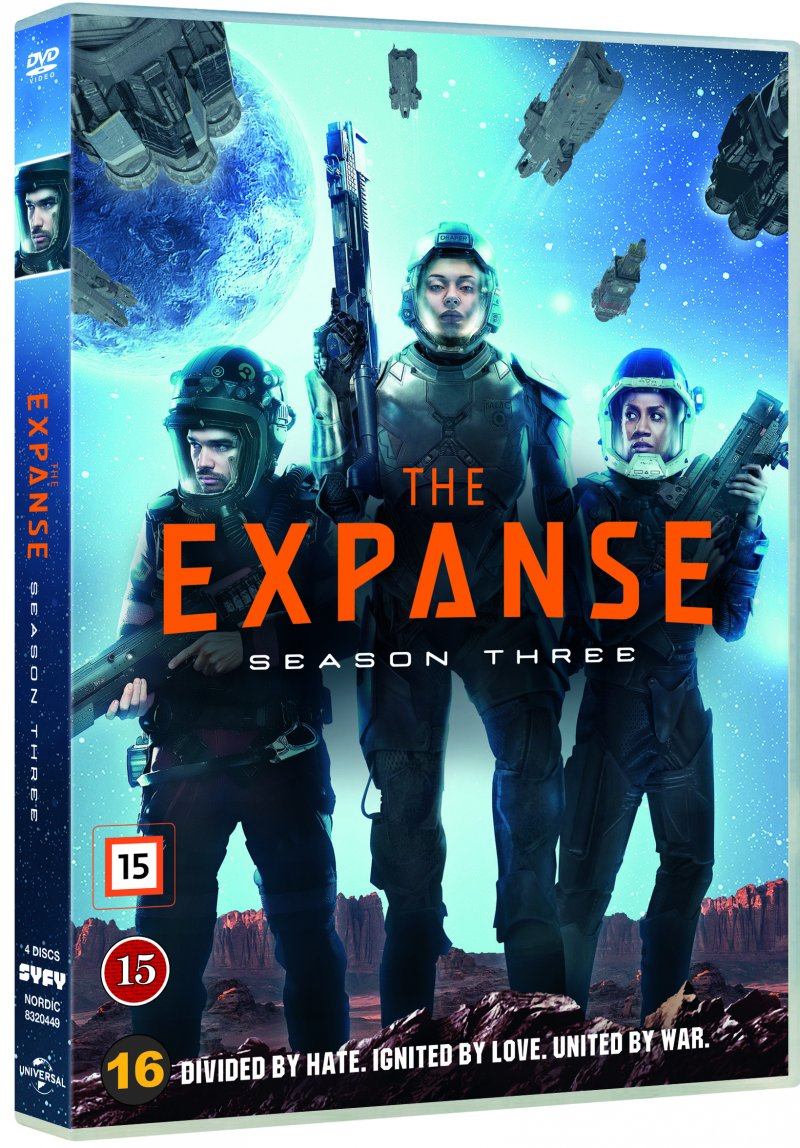 Billede af The Expanse - Sæson 3 - DVD - Tv-serie