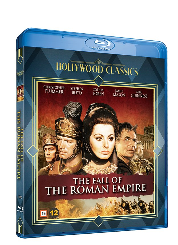 Billede af The Fall Of The Roman Empire (blu-ray + Dvd) - Blu-Ray