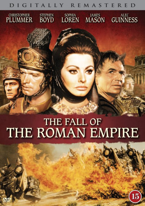 Billede af The Fall Of The Roman Empire - DVD - Film