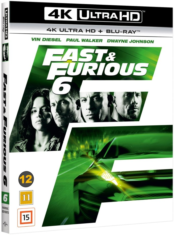 Image of   Fast And Furious 6 - 4K Blu-Ray