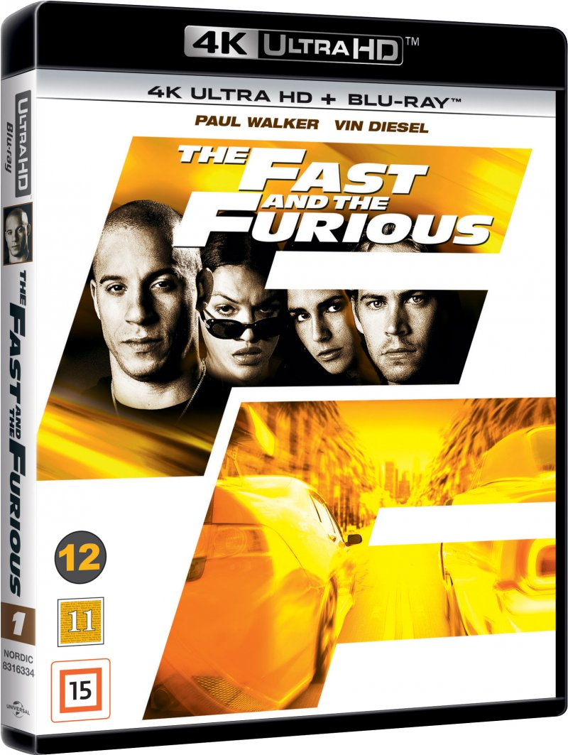 Billede af The Fast And The Furious - 4K Blu-Ray