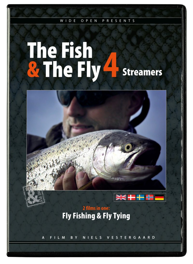Image of   The Fish & The Fly 4 Streamers - DVD - Film