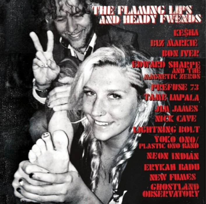 Image of   The Flaming Lips - The Flaming Lips & Heady Fwends - CD