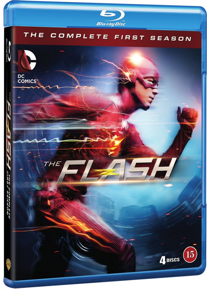 Image of   The Flash - Sæson 1 - Blu-Ray - Tv-serie