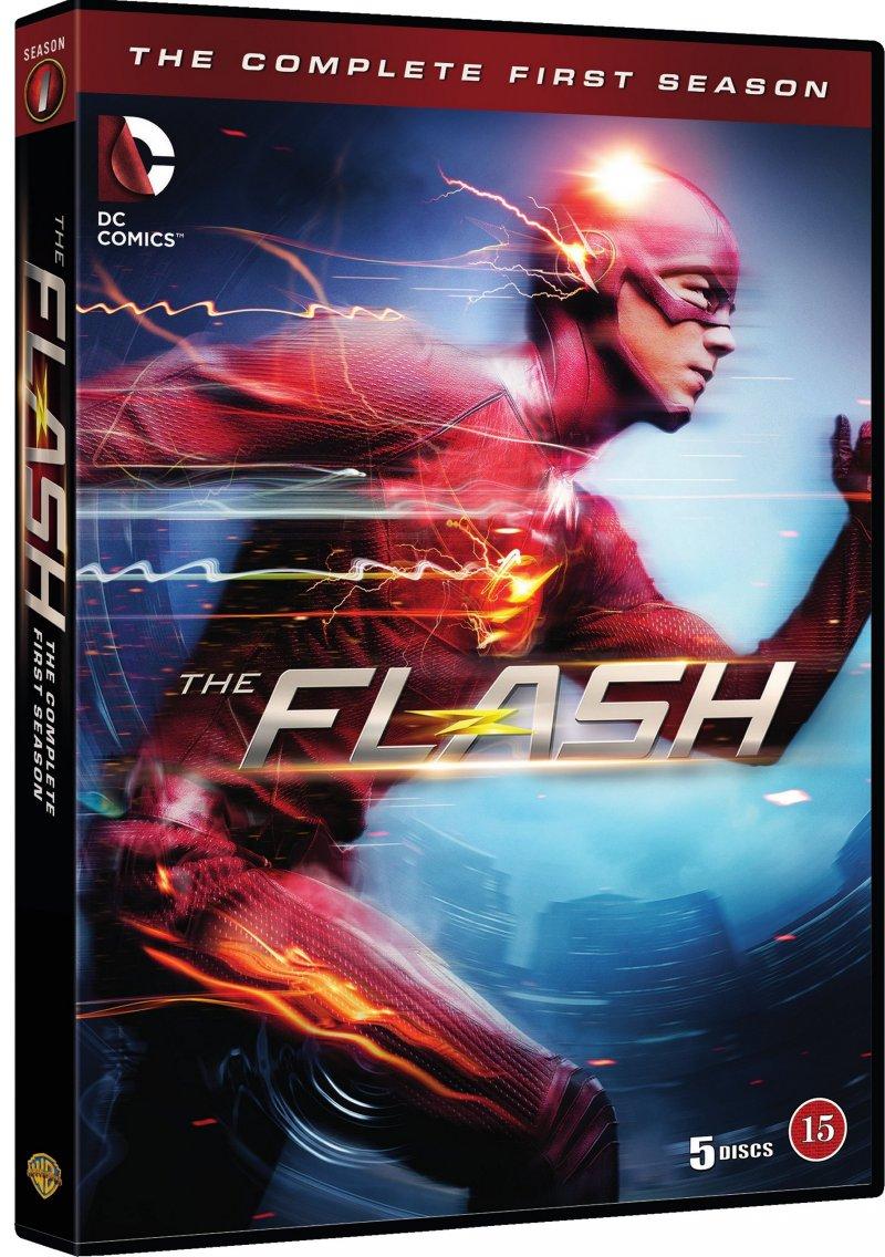 Billede af The Flash - Sæson 1 - DVD - Tv-serie