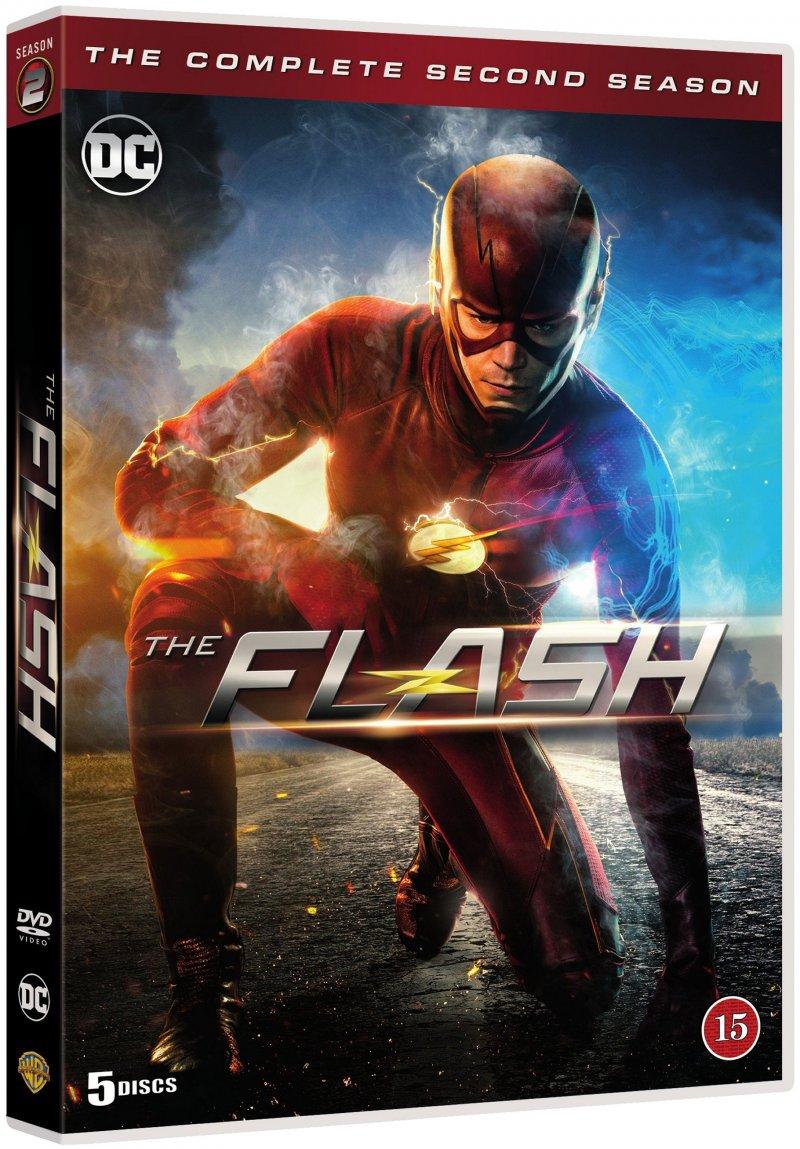 Billede af The Flash - Sæson 2 - DVD - Tv-serie
