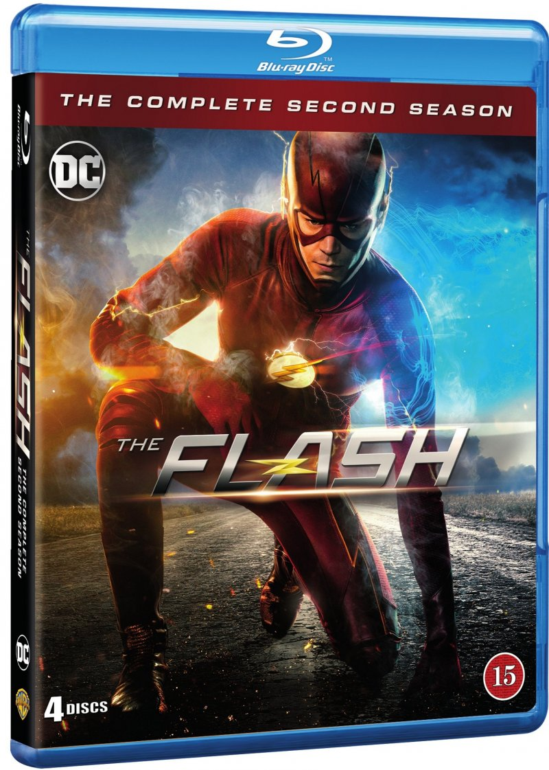 Image of   The Flash - Sæson 2 - Blu-Ray - Tv-serie