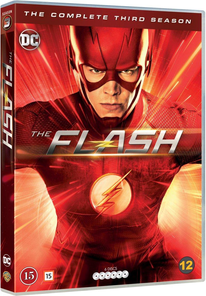 Billede af The Flash - Sæson 3 - DVD - Tv-serie