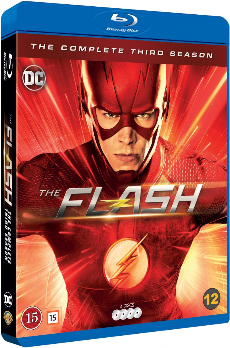 Image of   The Flash - Sæson 3 - Blu-Ray - Tv-serie