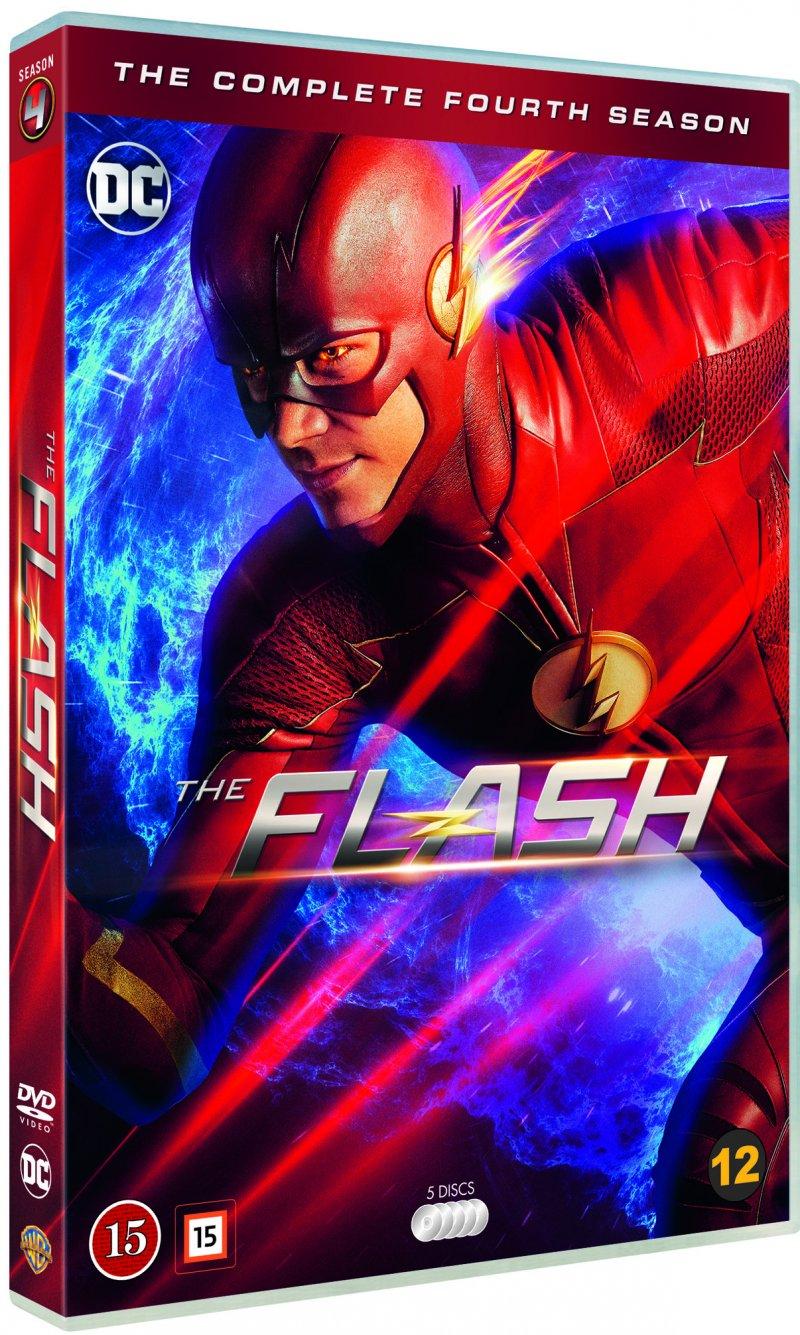 Billede af The Flash - Sæson 4 - DVD - Tv-serie