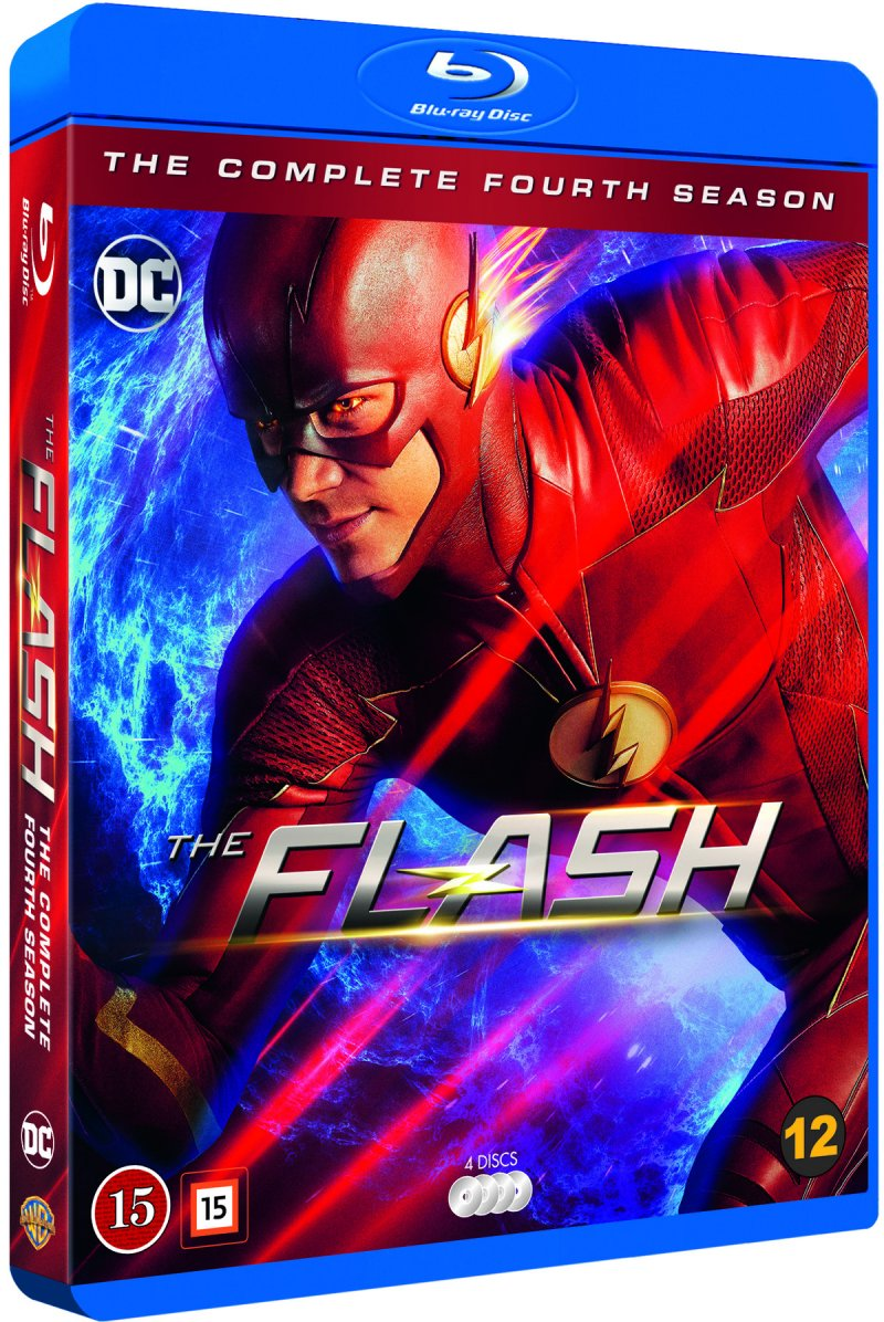 Image of   The Flash - Sæson 4 - Blu-Ray - Tv-serie