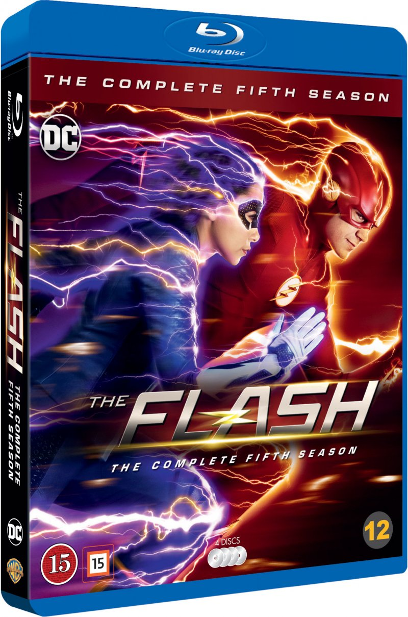 Image of   The Flash - Sæson 5 - Blu-Ray - Tv-serie
