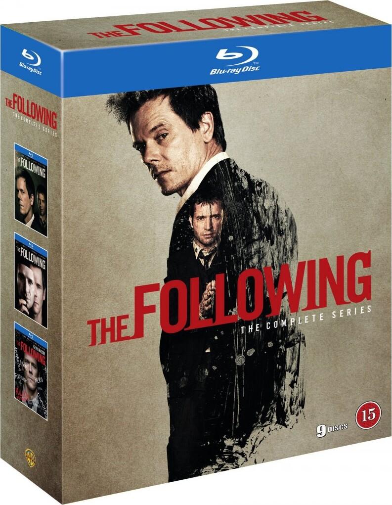The Following Komplet Box - Sæson 1-3 - Blu-Ray - Tv-serie