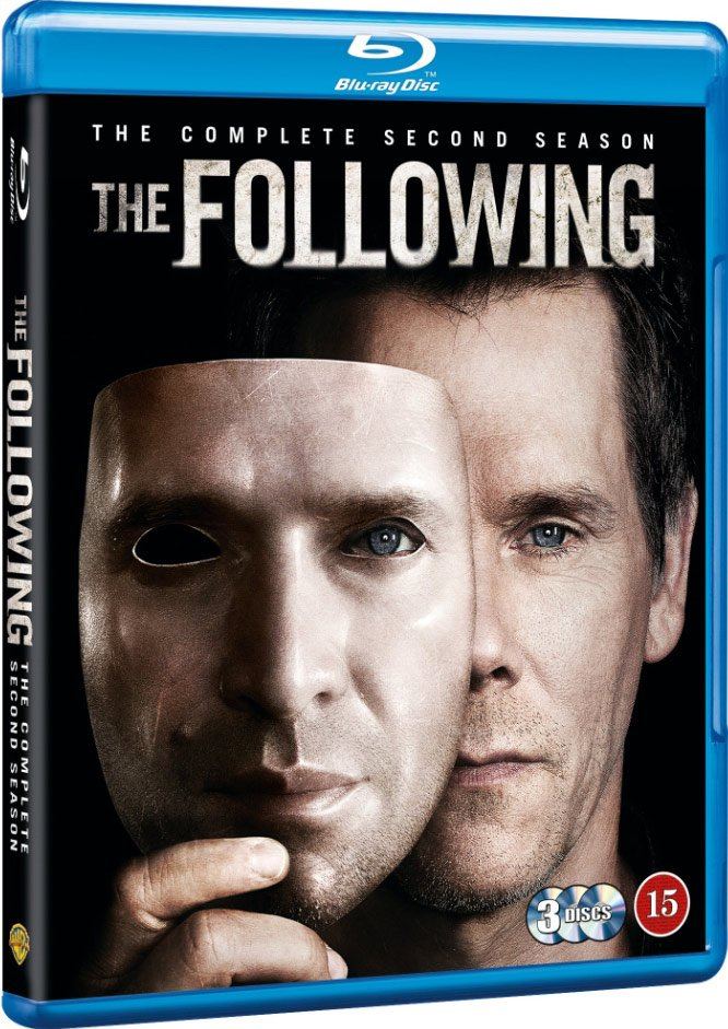 The Following - Sæson 2 - Blu-Ray - Tv-serie