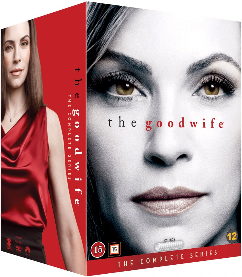 The Good Wife - Sæson 1-7 - DVD - Tv-serie