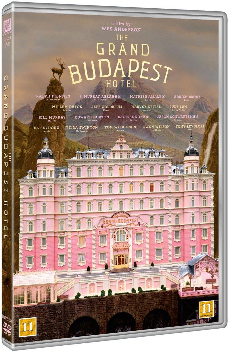 the grand budapest hotel dvd film k b billigt her. Black Bedroom Furniture Sets. Home Design Ideas