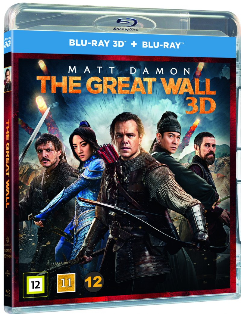 Billede af The Great Wall - 3D Blu-Ray