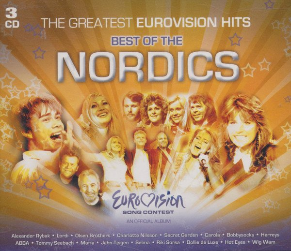 Image of   The Greatest Eurovivion Hits - Best Of The Nordics - CD