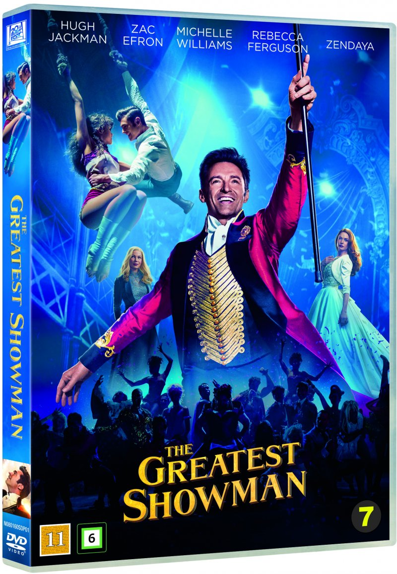 Billede af The Greatest Showman - DVD - Film