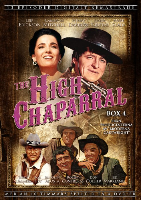 The High Chaparral - Boks 4 - DVD - Tv-serie