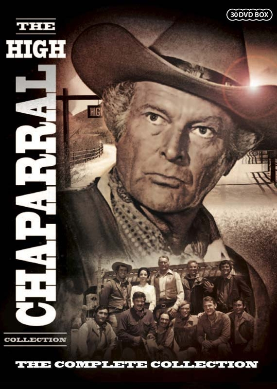 The High Chaparral - The Complete Collection - DVD - Tv-serie