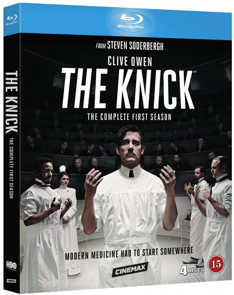 The Knick - Sæson 1 - Hbo - Blu-Ray - Tv-serie