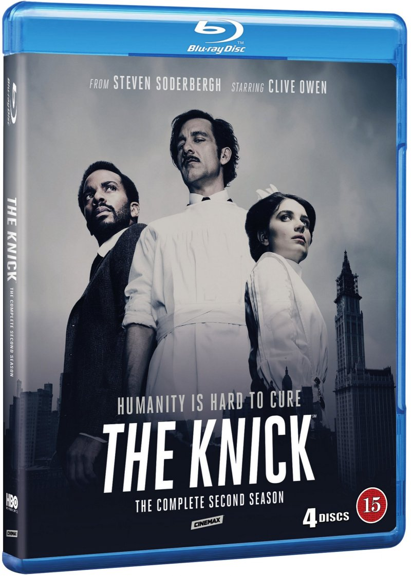 The Knick - Sæson 2 - Hbo - Blu-Ray - Tv-serie