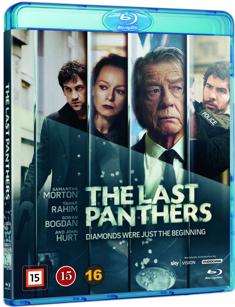The Last Panthers - Sæson 1 - Blu-Ray - Tv-serie