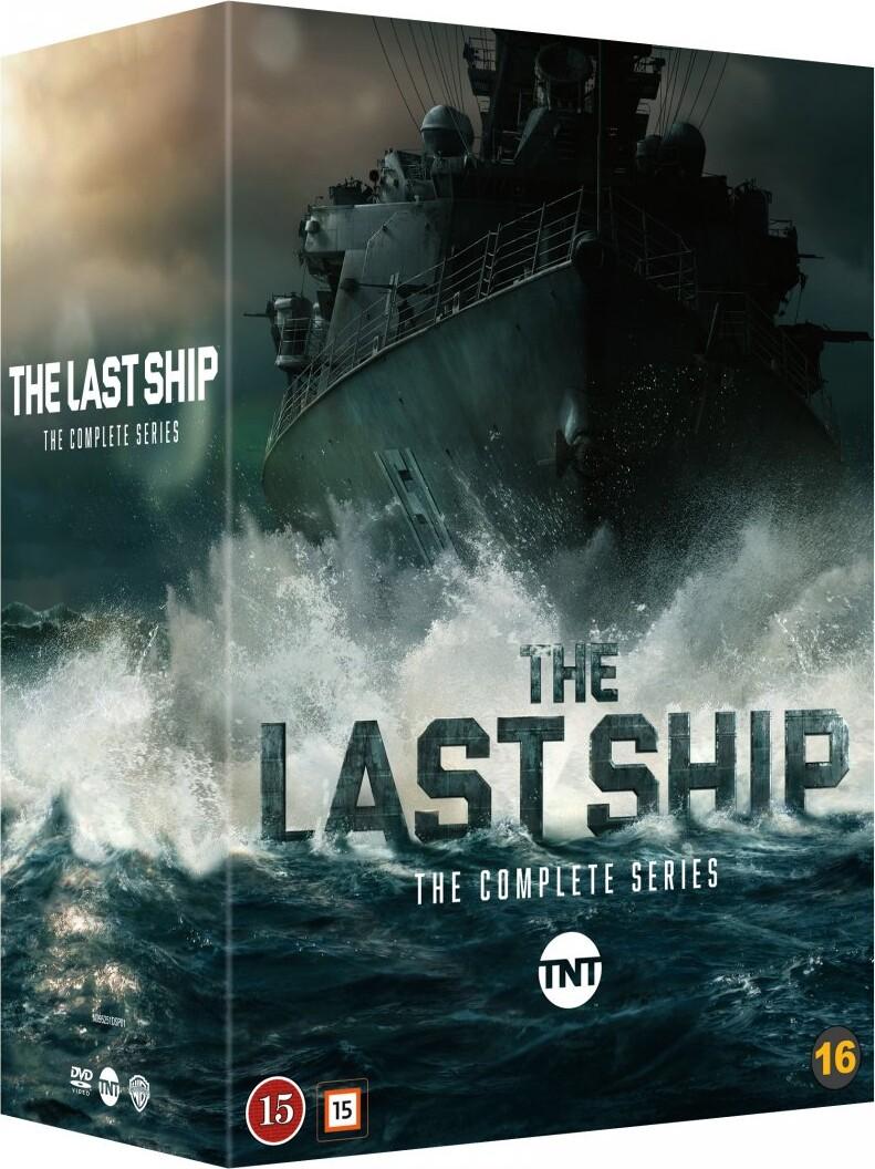 Billede af The Last Ship - Sæson 1-5 - DVD - Tv-serie
