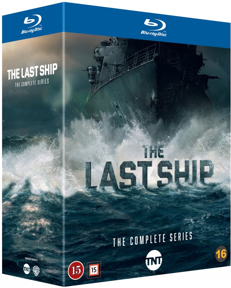 Image of   The Last Ship - Sæson 1-5 - Blu-Ray - Tv-serie