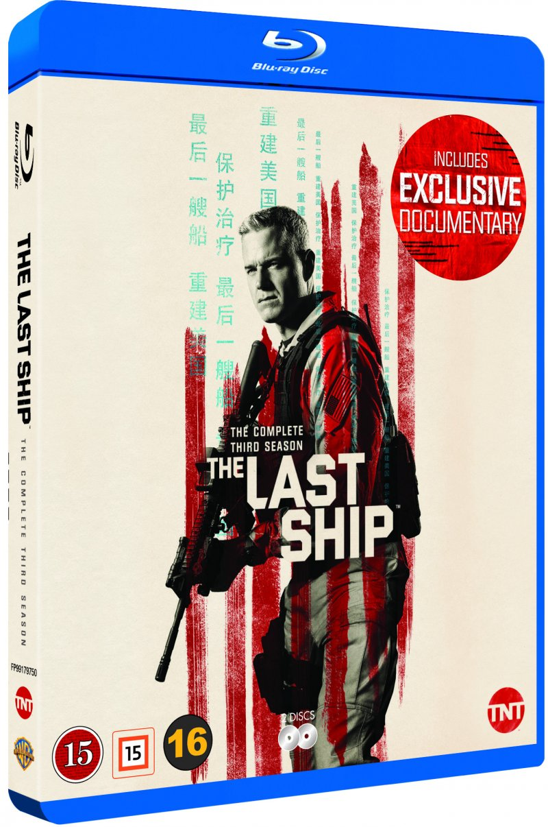 Image of   The Last Ship - Sæson 3 - Blu-Ray - Tv-serie