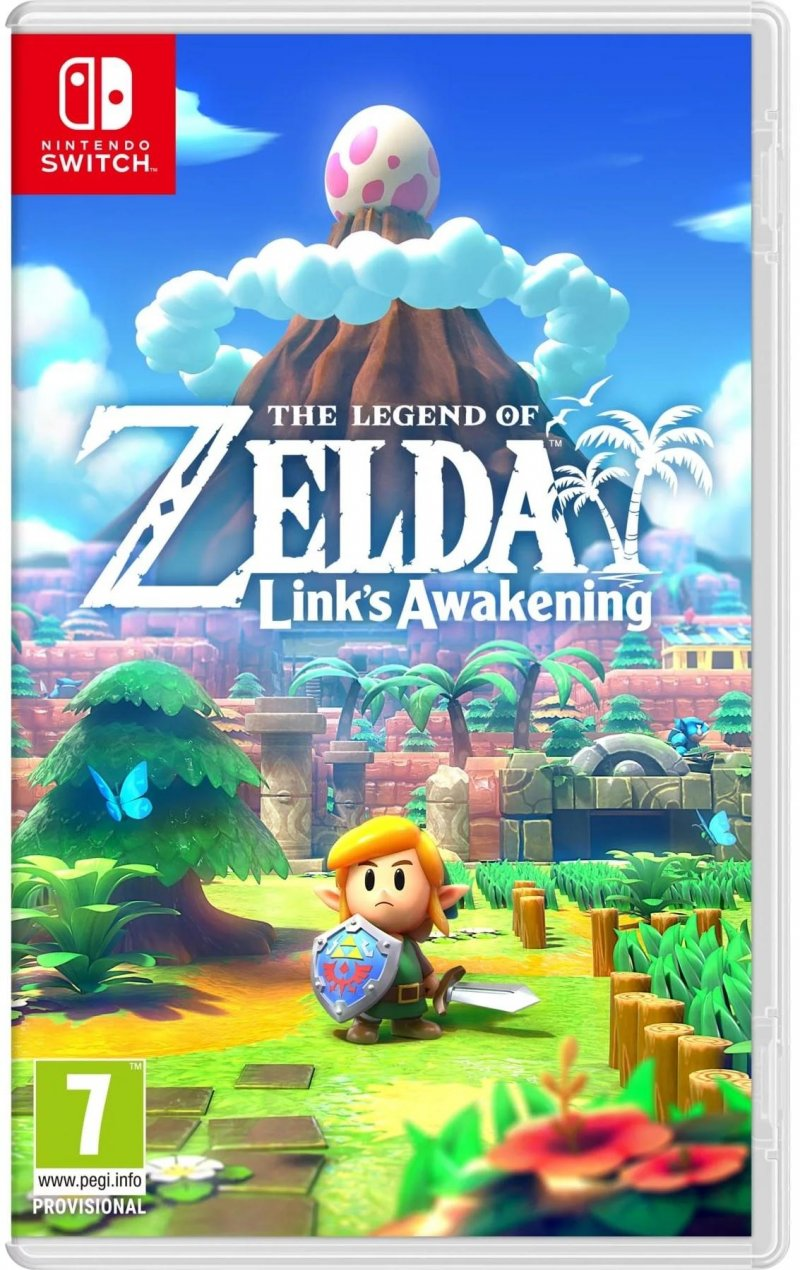 Image of   The Legend Of Zelda: Link's Awakening - Uk, Se, Dk, Fi - Nintendo Switch