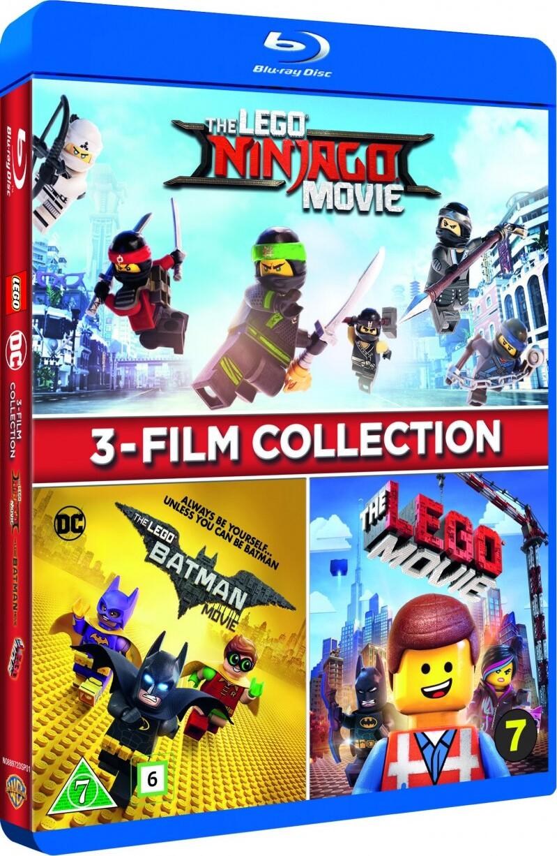 Image of   The Lego Ninjago Movie // The Lego Batman Movie // The Lego Movie - Blu-Ray