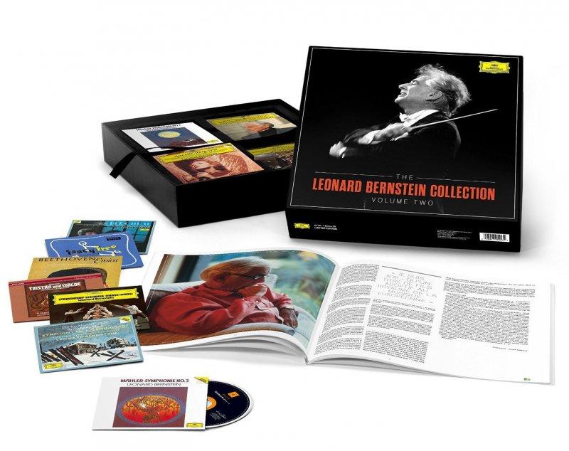 Image of   Leonard Bernstein - The Leonard Bernstein Collection - Volume 2 - 64 Cder - CD