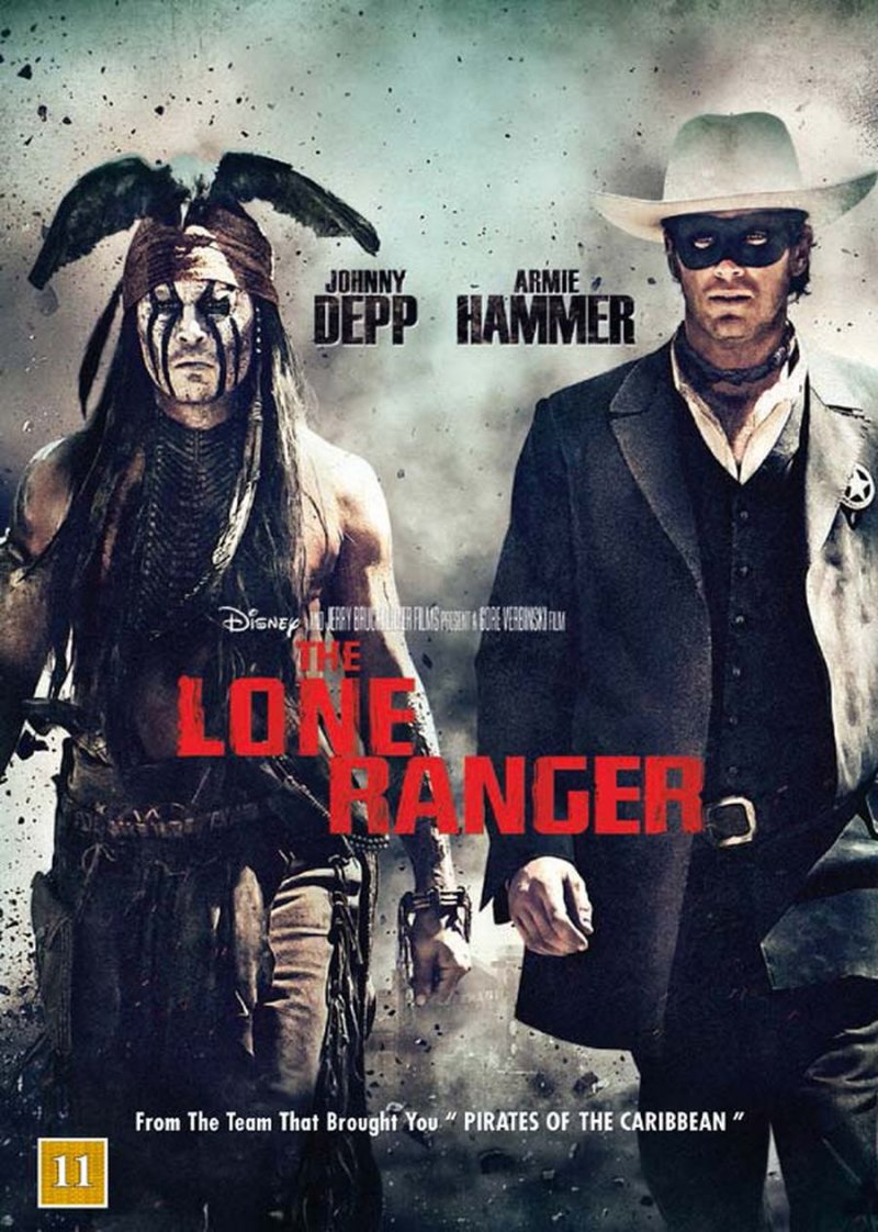 The Lone Ranger - DVD - Film