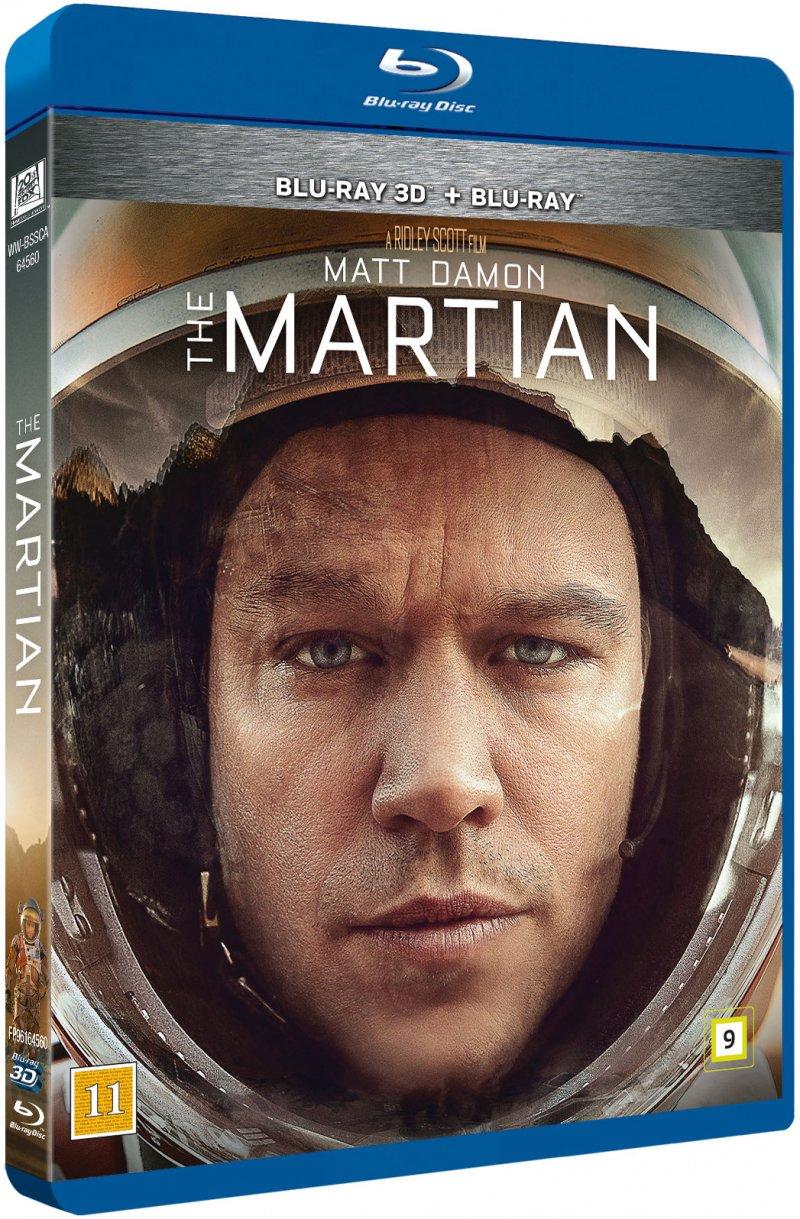 Billede af The Martian - 3D Blu-Ray