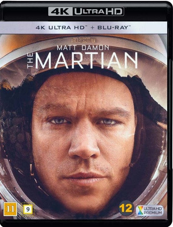 Image of   The Martian - 4K Blu-Ray