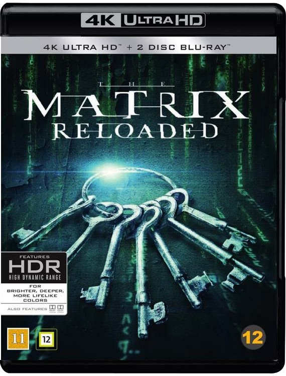 Image of   The Matrix Reloaded - 4K Blu-Ray