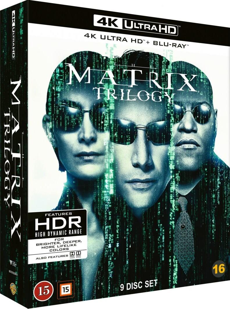 Image of   The Matrix Trilogy : The Matrix 1 // The Matrix 2 - Reloaded // The Matrix 3 - Revolutions - 4K Blu-Ray