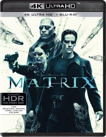 Image of   The Matrix - 4K Blu-Ray