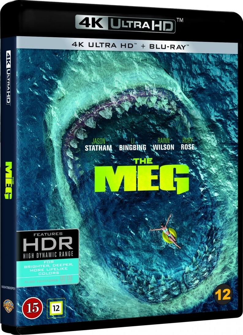 Image of   The Meg - 4K Blu-Ray