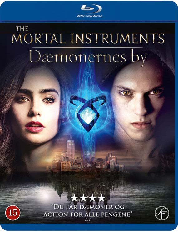 Image of   The Mortal Instruments: Dæmonernes By / City Of Bones - Blu-Ray