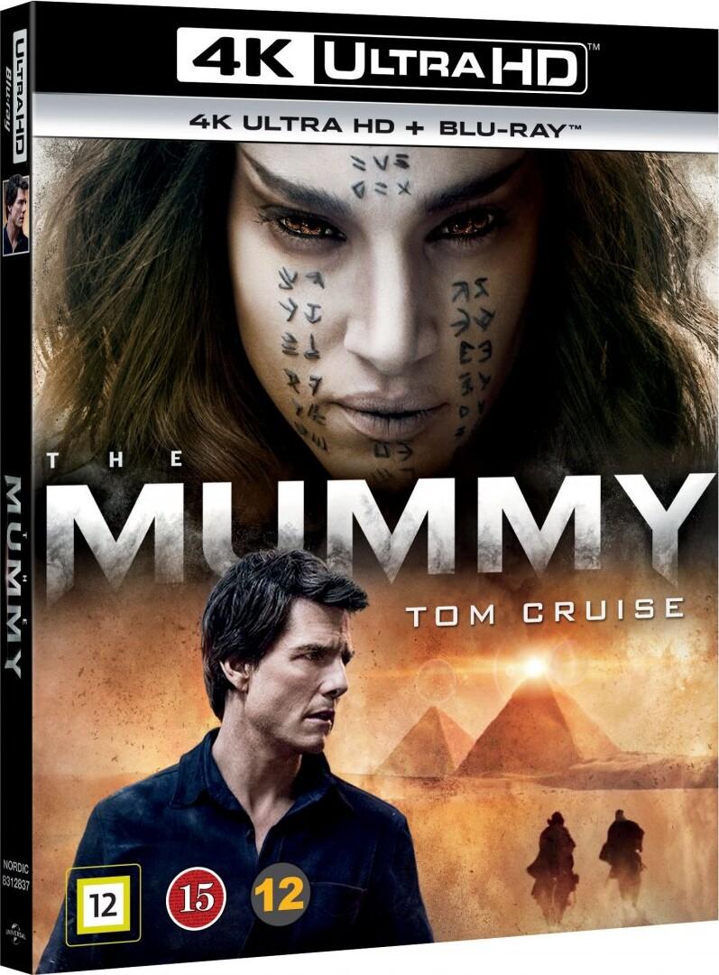 Image of   The Mummy - 2017 - 4K Blu-Ray