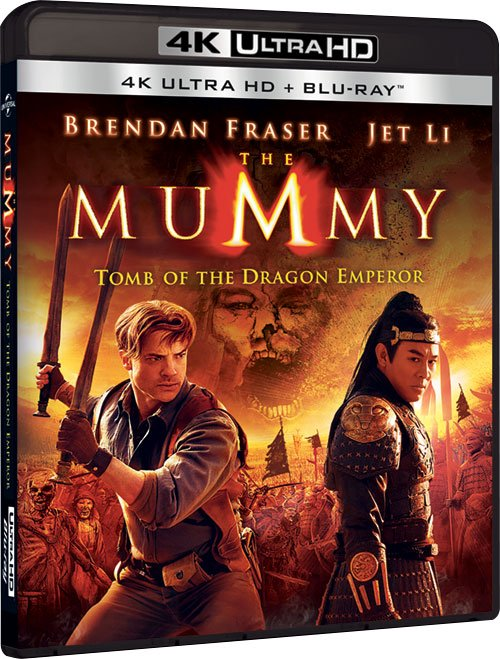 Billede af The Mummy 3: Tomb Of The Dragon Emperor - 4K Blu-Ray