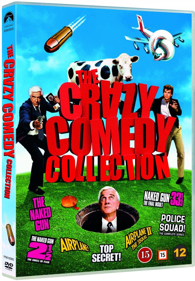 Billede af The Naked Gun 1-3 // Airplane 1-2 // Top Secret! // Police Squad - DVD - Film