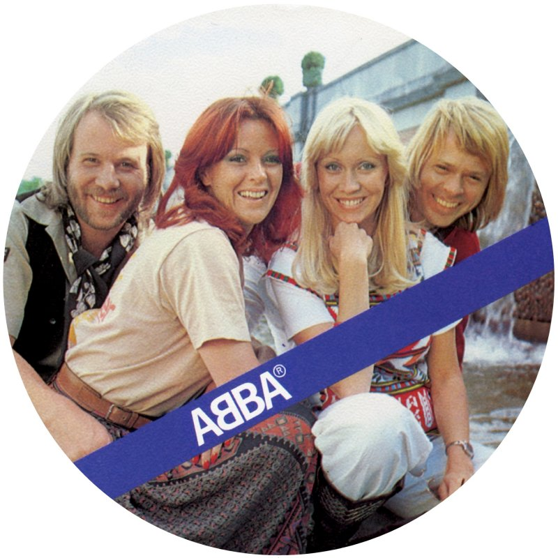 "Image of   Abba - The Name Of The Game - 7"" Picture Disc - Vinyl / LP"