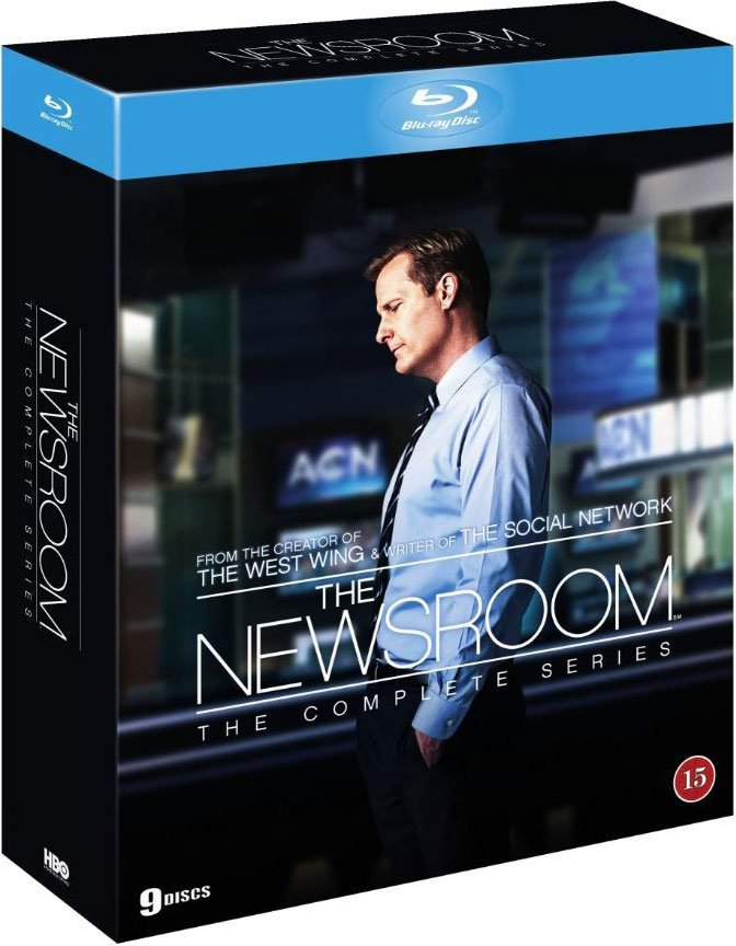 The Newsroom - Den Komplette Serie - Hbo - Blu-Ray - Tv-serie
